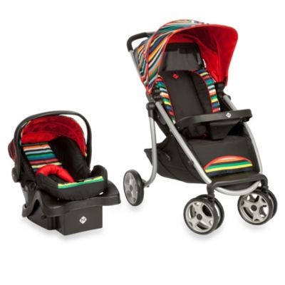 Striped Baby Stroller Systems