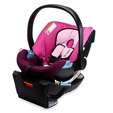 CYBEX Silver Aton Infant Car Seat in Purple