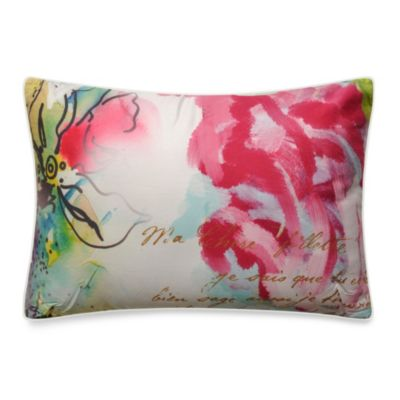 Flowerbomb Breakfast Toss Pillow