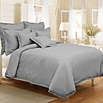 Veratex Gotham Duvet Cover Set in Stone