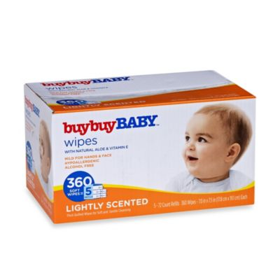 buybuy BABY™ 360-Count Lightly Scented Wipes with Natural Aloe & Vitamin E