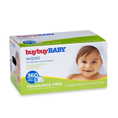 buybuyBABY® 360-Count Fragrance Free Wipes with Natural Aloe & Vitamin E