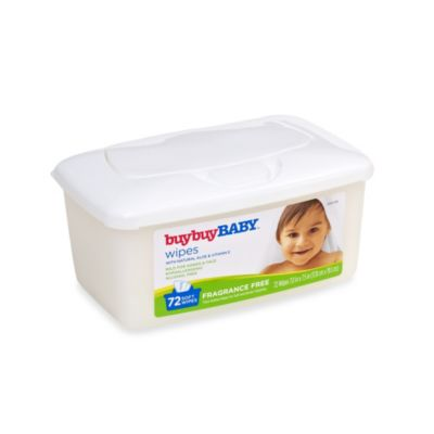 buybuyBABY® 72-Count Tub Fragrance Free Wipes with Natural Aloe & Vitamin E