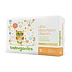 BabyGanics® 36-Count Size 2 Ultra Absorbent Jumbo Diapers