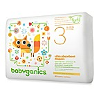 BabyGanics® 31-Count Size 3 Ultra Absorbent Jumbo Diapers