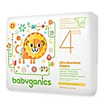 BabyGanics® 27-Count Size 4 Ultra Absorbent Jumbo Diapers