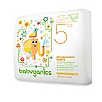 BabyGanics® 23-Count Size 5 Ultra Absorbent Jumbo Diapers