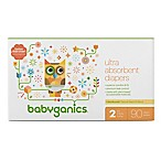 BabyGanics® 108-Count Size 2 Ultra Absorbent Diapers