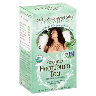 Earth Mama Angel Baby® 16-Count Organic Heartburn Herbal Tea
