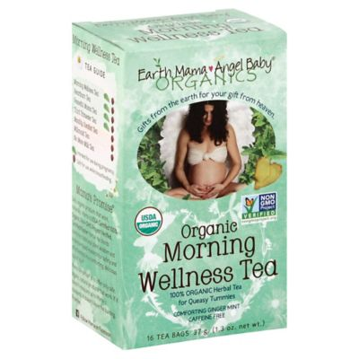 Earth Mama Angel Baby® Morning Wellness 16-Count Organic Herbal Tea