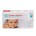 Honest Size One 44-Pack Diapers with Bloom Pattern