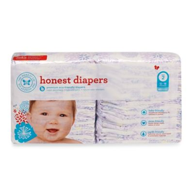 Honest Size Two 40-Pack Diapers with Bloom Pattern