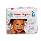 Honest Size Four 29-Pack Diapers with Bloom Pattern