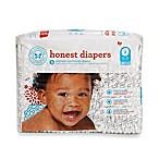 Honest Size Four 29-Pack Diapers with Skull Pattern