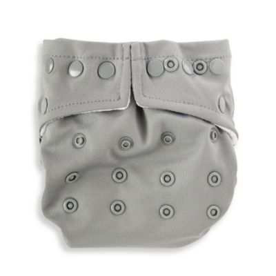 Bumkins® Snap-In-One Cloth Diaper in Grey