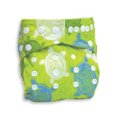 Bumkins® Snap-In-One Cloth Diaper in Turtle