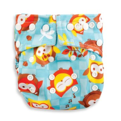 Bumkins® Snap-In-One Cloth Diaper in Owl