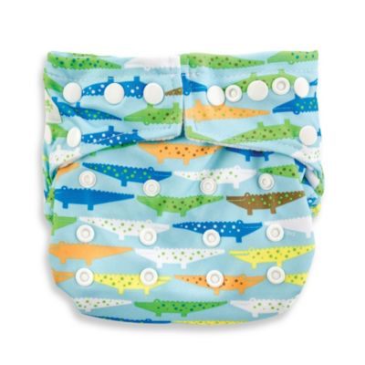Bumkins® Snap-In-One Cloth Diaper in Crocs
