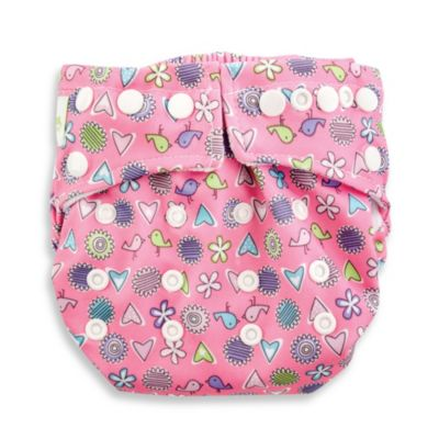 Bumkins® Snap-In-One Cloth Diaper in Love Birds
