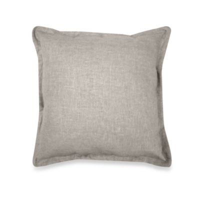 Veratex Gotham Square Toss Pillow in Stone