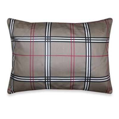 Allison Breakfast Toss Pillow in Plaid