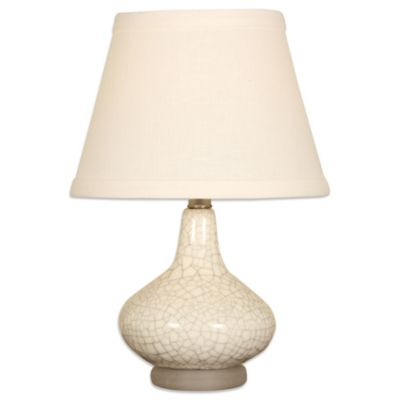 Splash Ceramic 1-Light Table Lamp in Crackle