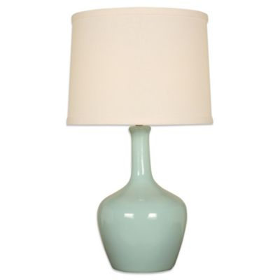 Splash 1-Light Lamp in Aegean Green