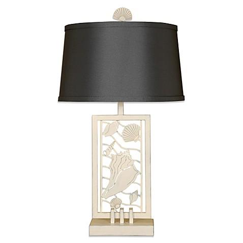 Metal Seashell 1-Light Table Lamp - Bed Bath & Beyond