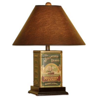 Steamship Canister 1-Light Table Lamp