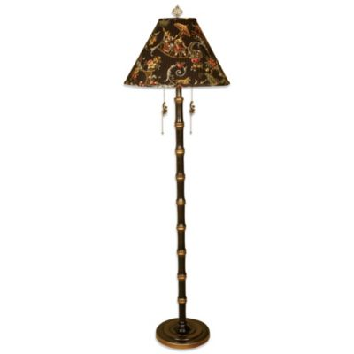 Chinoiserie 1-Light Floor Lamp