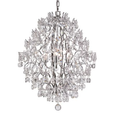 Bel Air Silver Drop Chandelier