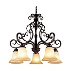 Bel Air Victorian 5-Light Down Chandelier