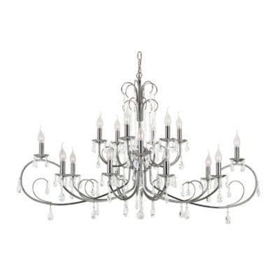 Bel Air Chic Nouveau 18-Light Chandelier