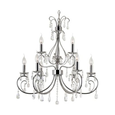 Bel Air Chic Nouveau 9-Light Chandelier