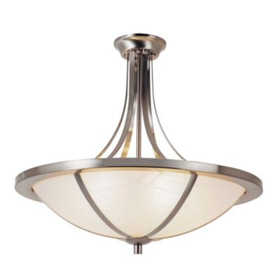 Bel Air Cross Trim 6-Light Semi-Flush Mount