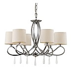 Bel Air Chic Swag 6-Light Chandelier