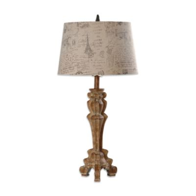 Crestview Collection Aramis 1-Light Table Lamp