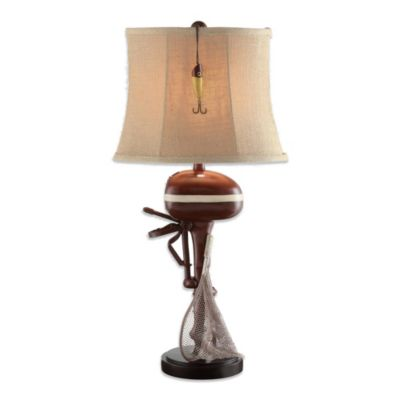 Crestview Collection Motor Boating 1-Light Table Lamp