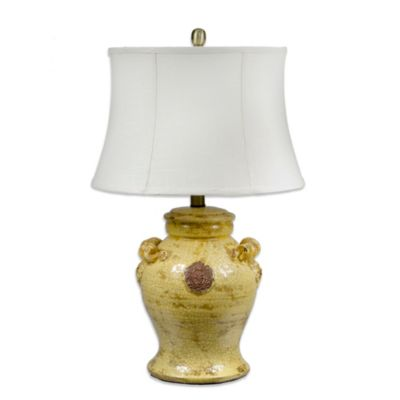 Crestview Collection Toscano 1-Light Table Lamp