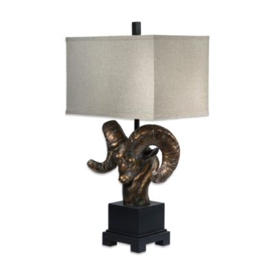Crestview Collection Mountain King 1-Light Table Lamp
