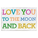 About Face Designs Love You To The Moon & Back Plaque