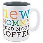About Face Designs New Mommy 12 oz. Mug
