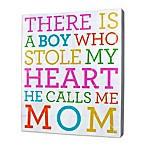 About Face Designs Boy Who Stole My Heart Plaque
