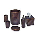 Dawson Ceramic Bathroom Accessories in Plum