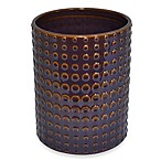 Parker Loft Dawson Ceramic Wastebasket in Plum