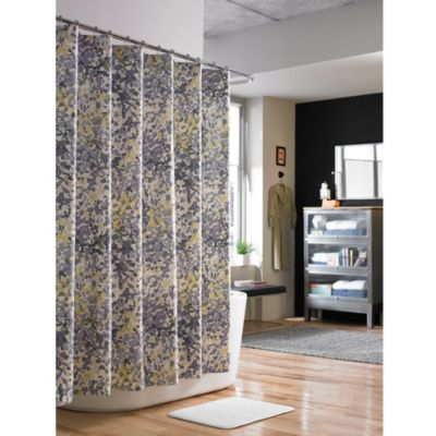 Kenneth Cole Reaction Home Confetti 52-Inch x 78-Inch Shower Curtain