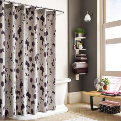 Kenneth Cole Reaction Home Shades 52-Inch x 78-Inch Shower Curtain