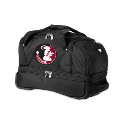 Florida State University 22-Inch Drop Bottom Wheeled Duffel Bag