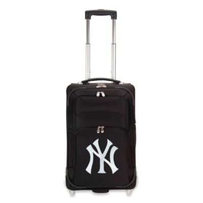MLB New York Yankees 21-Inch Wheeled Carry-On