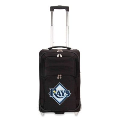 MLB Tampa Bay Rays 21-Inch Wheeled Carry-On